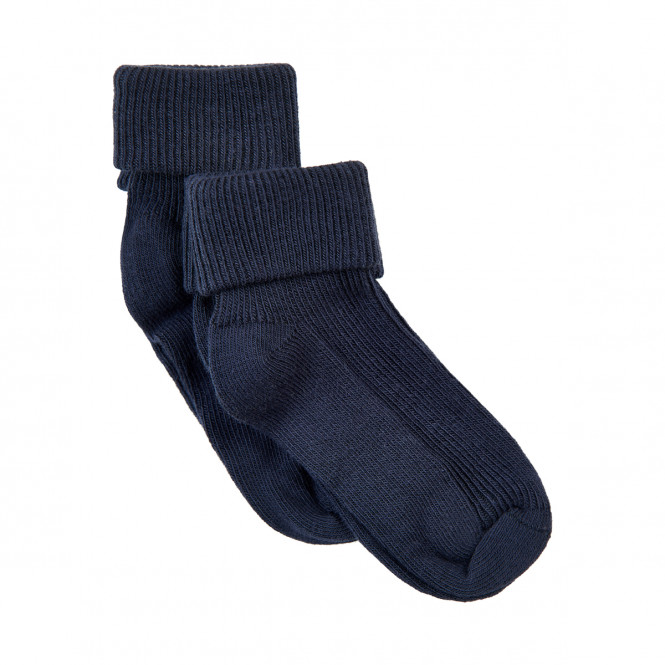 Babystrumpa Rib 2pack Dark Navy