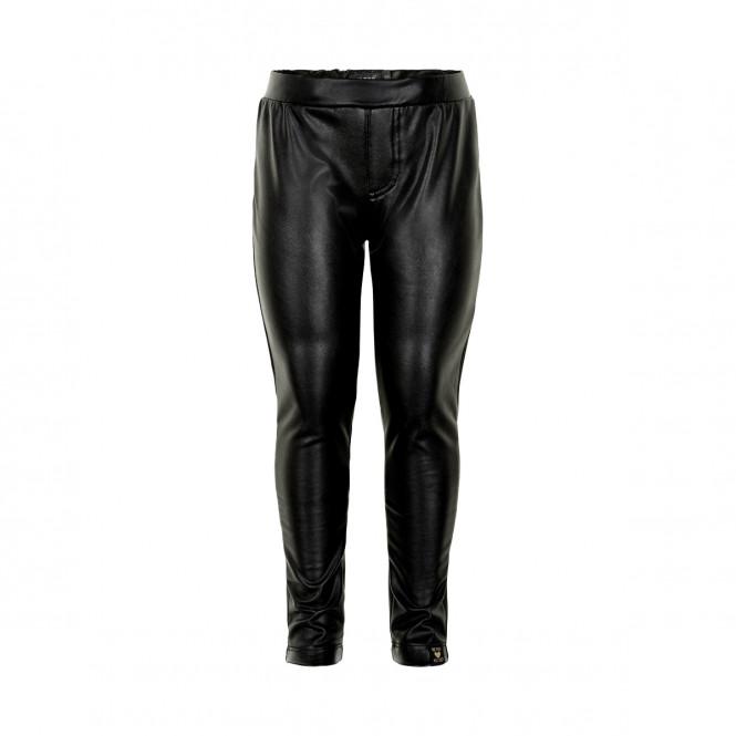 Byxa Faux Leather Svart