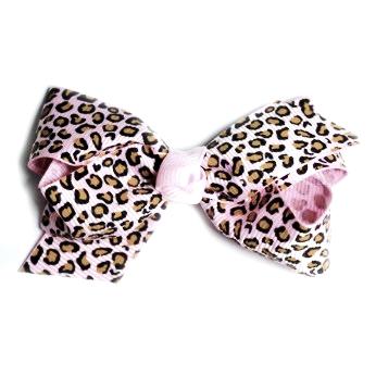 Rosett Clip Leopardrosa