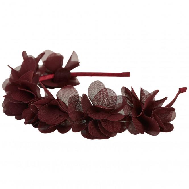 Diadem Blommor Vinröd