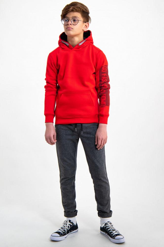 Sweatshirt Hoodie True Red