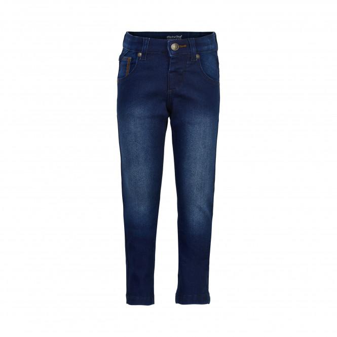 Jeans Power Stretch Dark Blue Denim