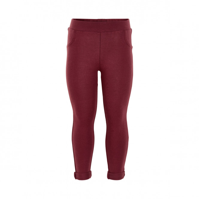 Jeggings Oxblood Red
