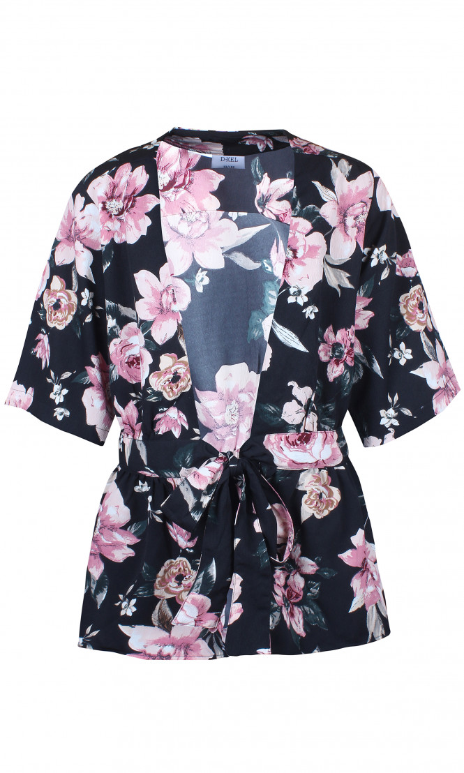 Kimono Belina Svart