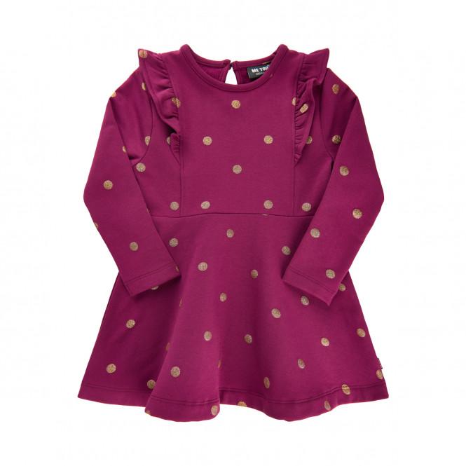Klänning Sweat Magenta Purple