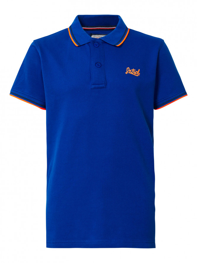 T-shirt Polo Imperial Blue