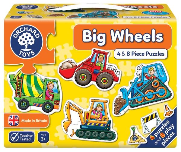 Big Wheels Pussel