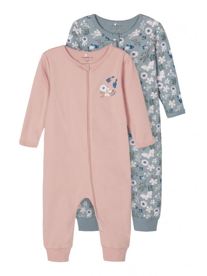 Pyjamas Fjäril Pale Mauve