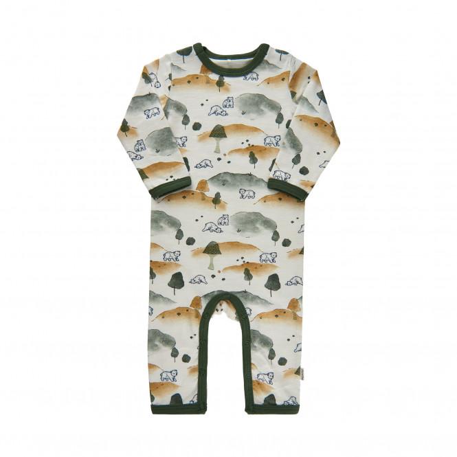 Pyjamas Grön Björn