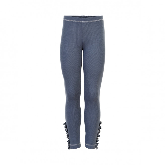 Leggings Rib Ombre Blue