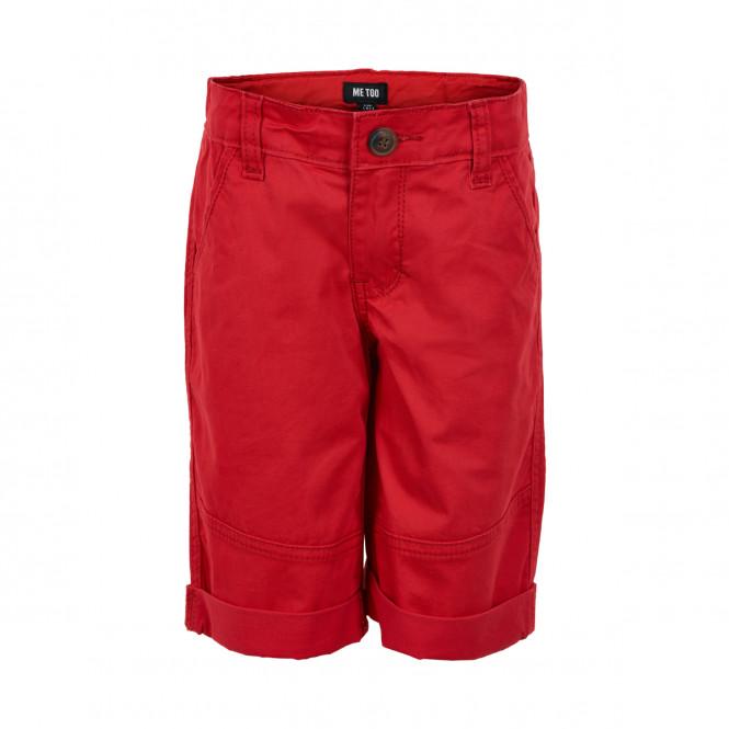 Shorts Bermuda Twill Tomato Red