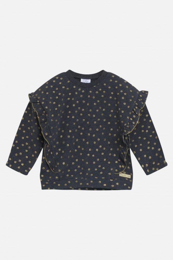 Sine Sweatshirt Dark Grey Melange