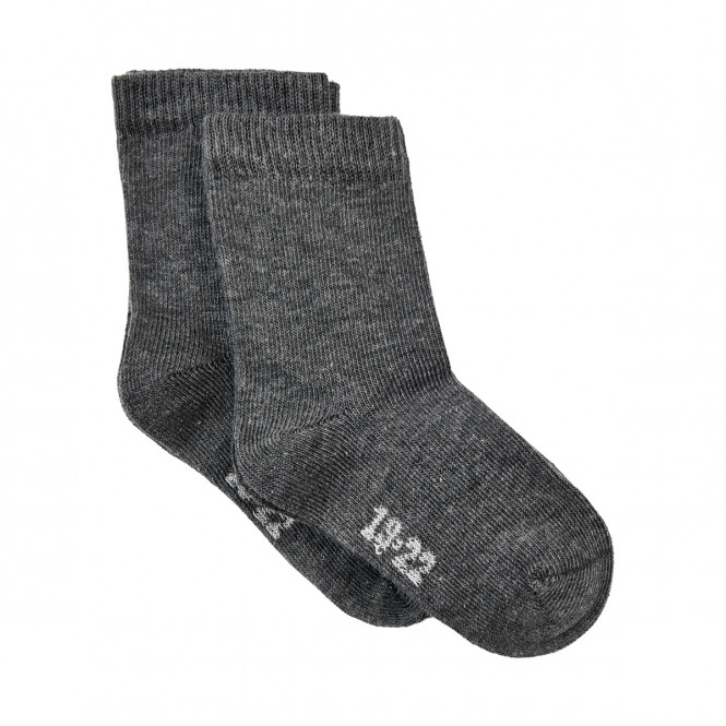 Strumpor 2-pack Dark Grey Melange