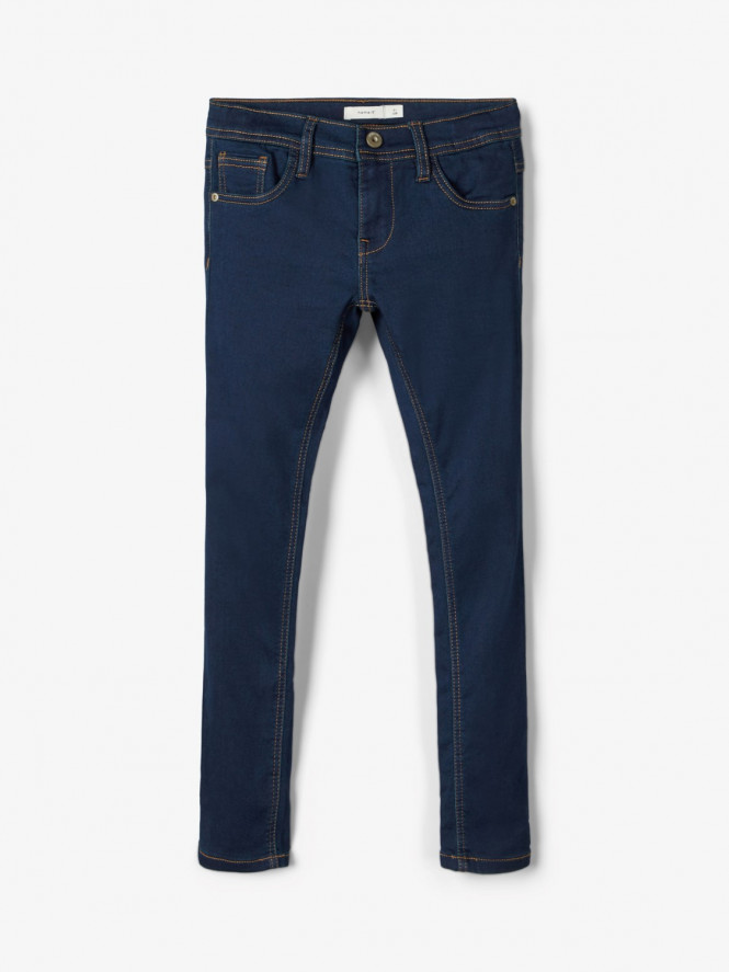 Jeans Sweat Dark Blue Denim
