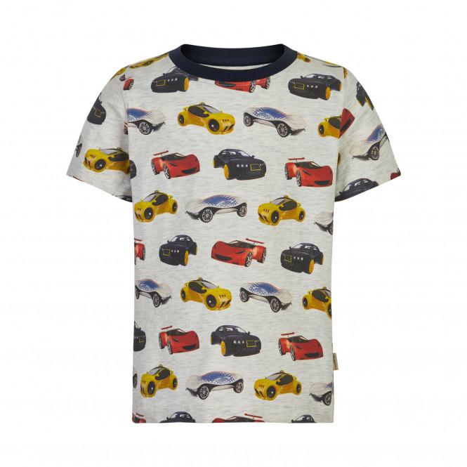 T-shirt Bilar Beige Melange