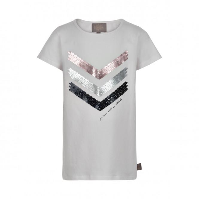 T-shirt Cloud Vändbara Paljetter