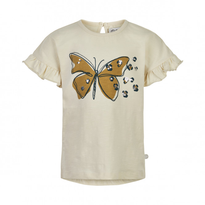 T-shirt Fjäril Paljett