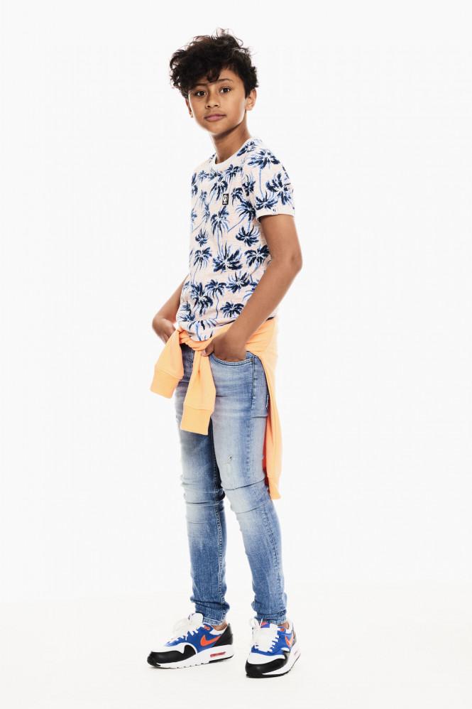 T-shirt Blå Palm