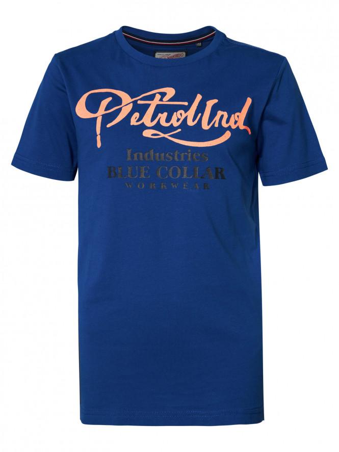 T-shirt Petrol Imperial Blue