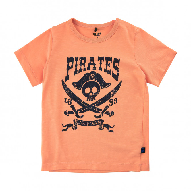 Tshirt Pirat Cadmium Orange