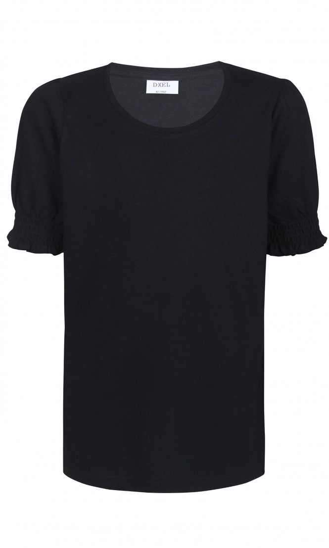 T-shirt Ramona Puff Svart