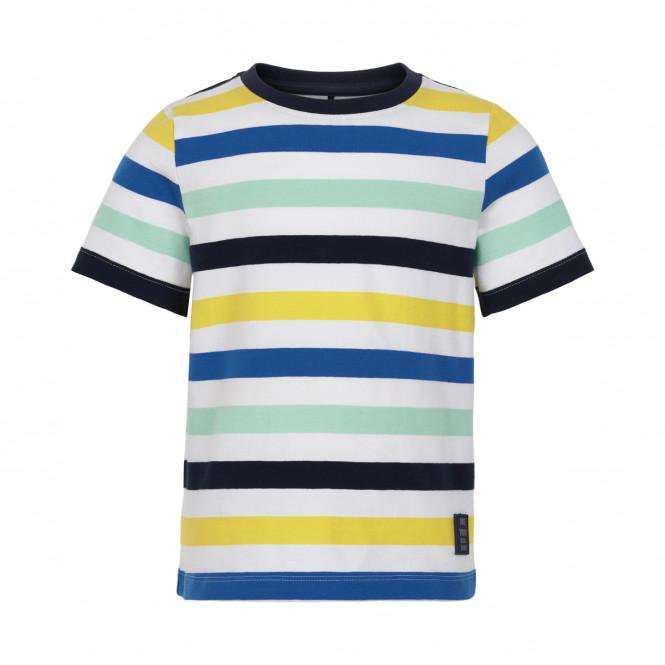 T-shirt Randig Gul Blå