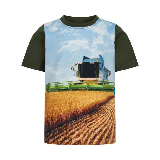 T-shirt Skördetröska Grön