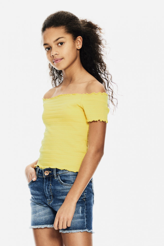 T-shirt Summer Yellow