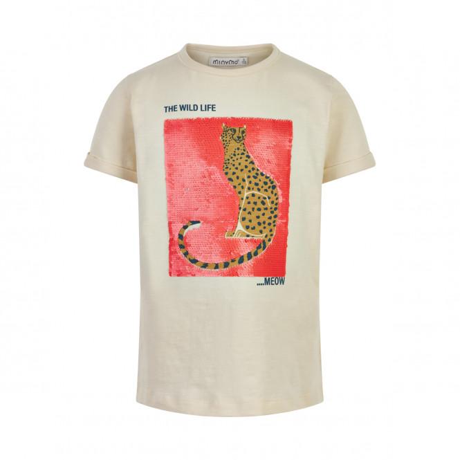 T-shirt Wild Life Vändbara Paljetter