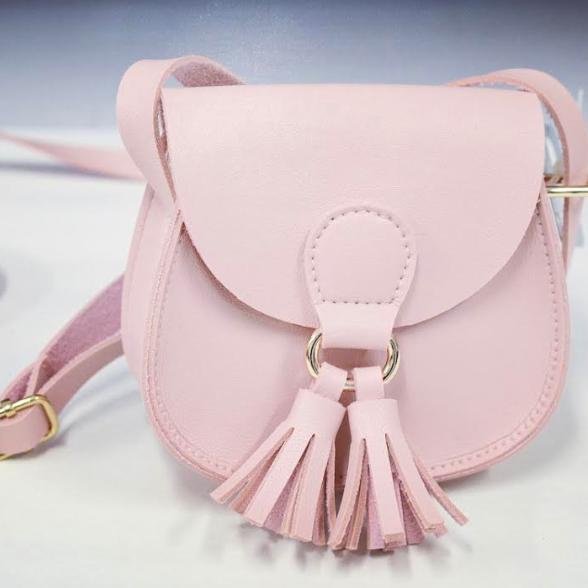 Väska med Tofs Rosa
