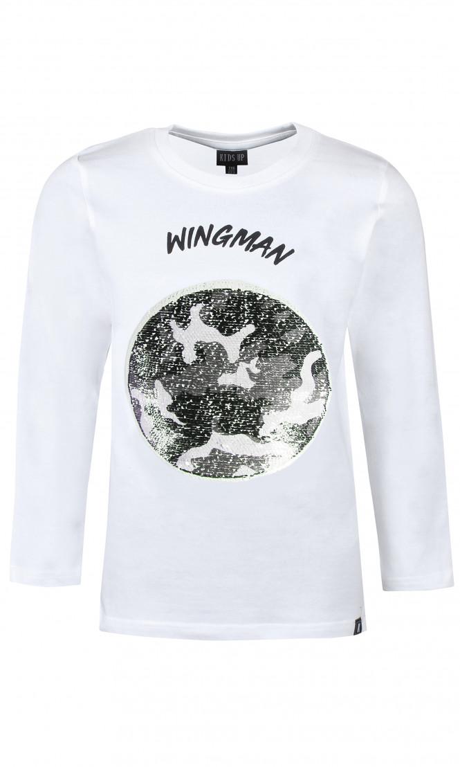 Tröja Wingman Vändbara Paljetter