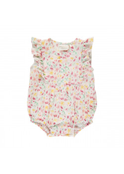 Playsuit Pearl White