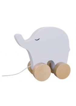 Dragdjur Elefant Grå