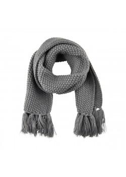 Halsduk Pearl Knit Dark Grey