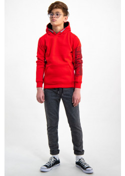 Sweatshirt Hoodie True Red