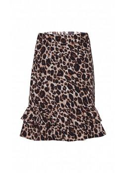 Kjol Leopard