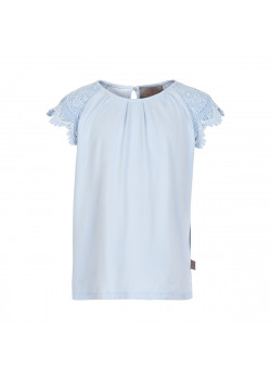 T-shirt Lace Xenon Blue