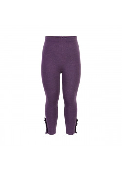 Leggings med Glitter Mini Gothic Grape