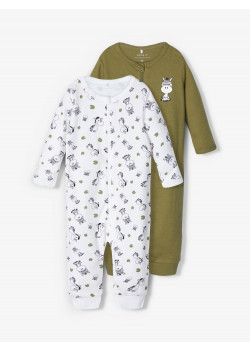Pyjamas NBMNIGHTSUIT 2Pack Zip