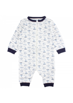 Pyjamas Segelbåt Dragkedja