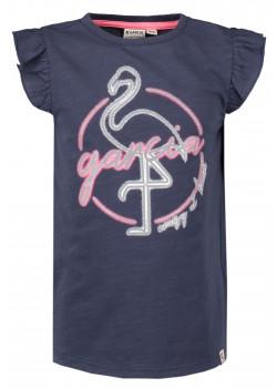 T-shirt Flamingo Reflex Blå