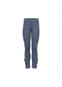 Leggings Rib Ombre Blue