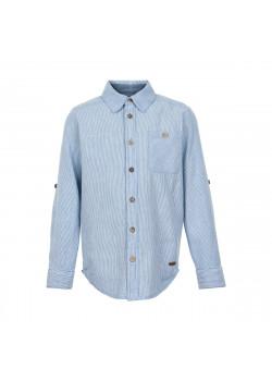 Skjorta Randig Vit/Blå