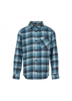 Skjorta Rutig Ombre Blue Kids