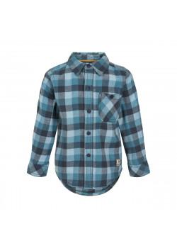 Skjorta Rutig Ombre Blue