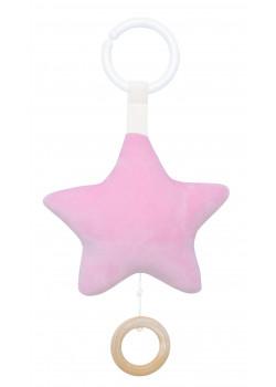 Speldosa Stjärna Rosa