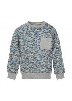 Sweatshirt Mid Grey Melange
