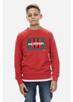 Sweatshirt No Signal Röd