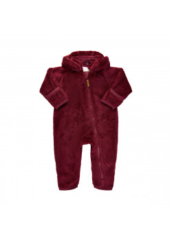 Teddy Suit Oxblood Red
