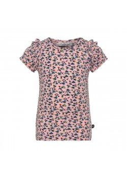 T-shirt Blommor Peachskin